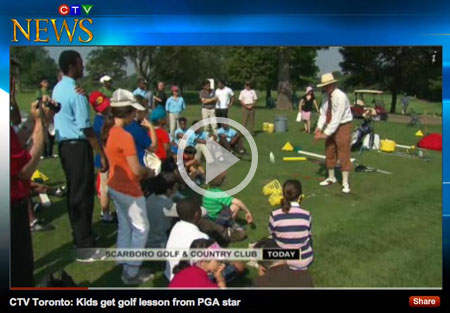 CTV Kids get golf lesson from PGA star